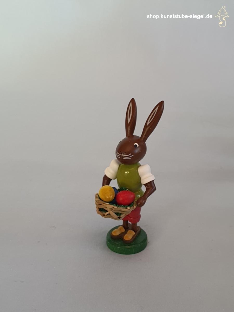 Preissler Osterhase mit Eierkorb