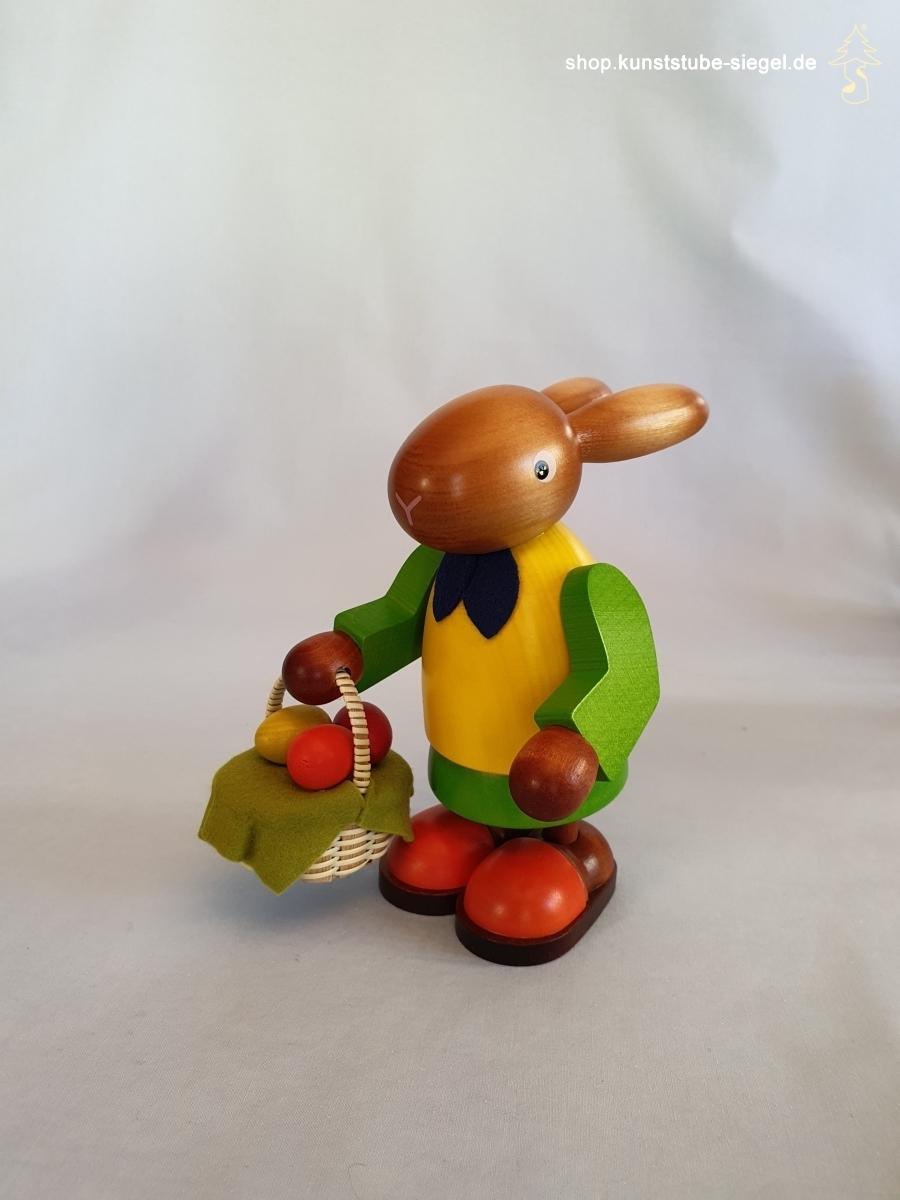 Hasenfrau mit Eierkorb