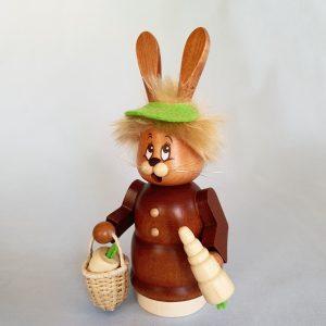 Kunststube Siegel Miniwichtel Häsin mit Karotte