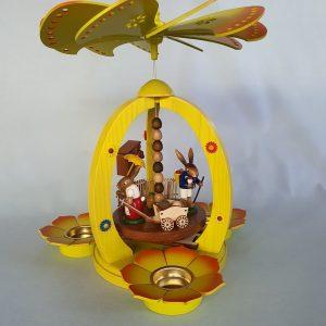Kunststube Siegel Osterpyramide farbig