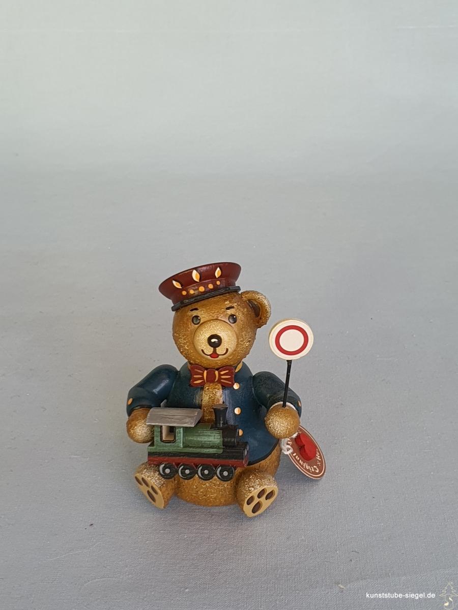 Hubrig Hubiduu Teddybär Eisenbahner