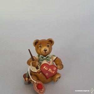 Hubrig Hubiduu Teddybär Herzelmaler