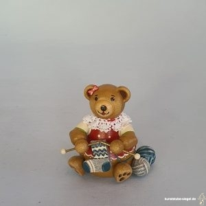 Hubrig Hubiduu Teddybär Strickliesel