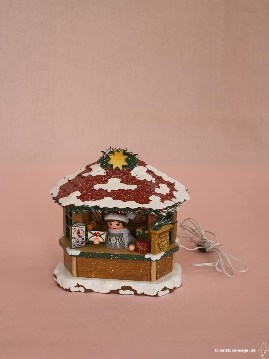 Hubrig Marktbude Weihnachtspostamt elektrisch
