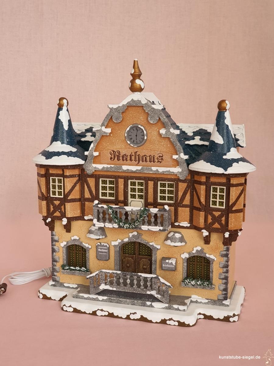 Hubrig Rathaus Winterhaus elektrisch