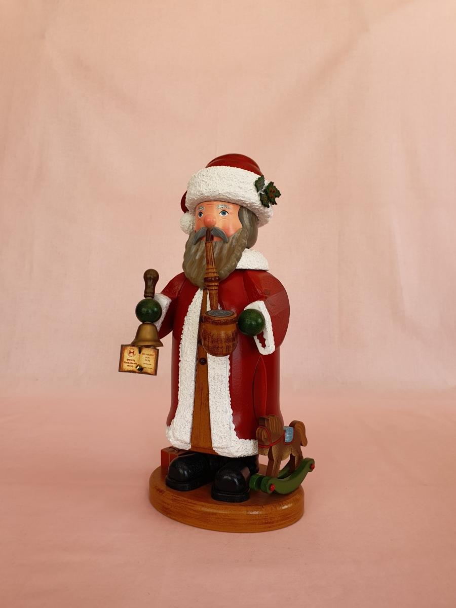 Hubrig Weihnachtsmann groß Räuchermann