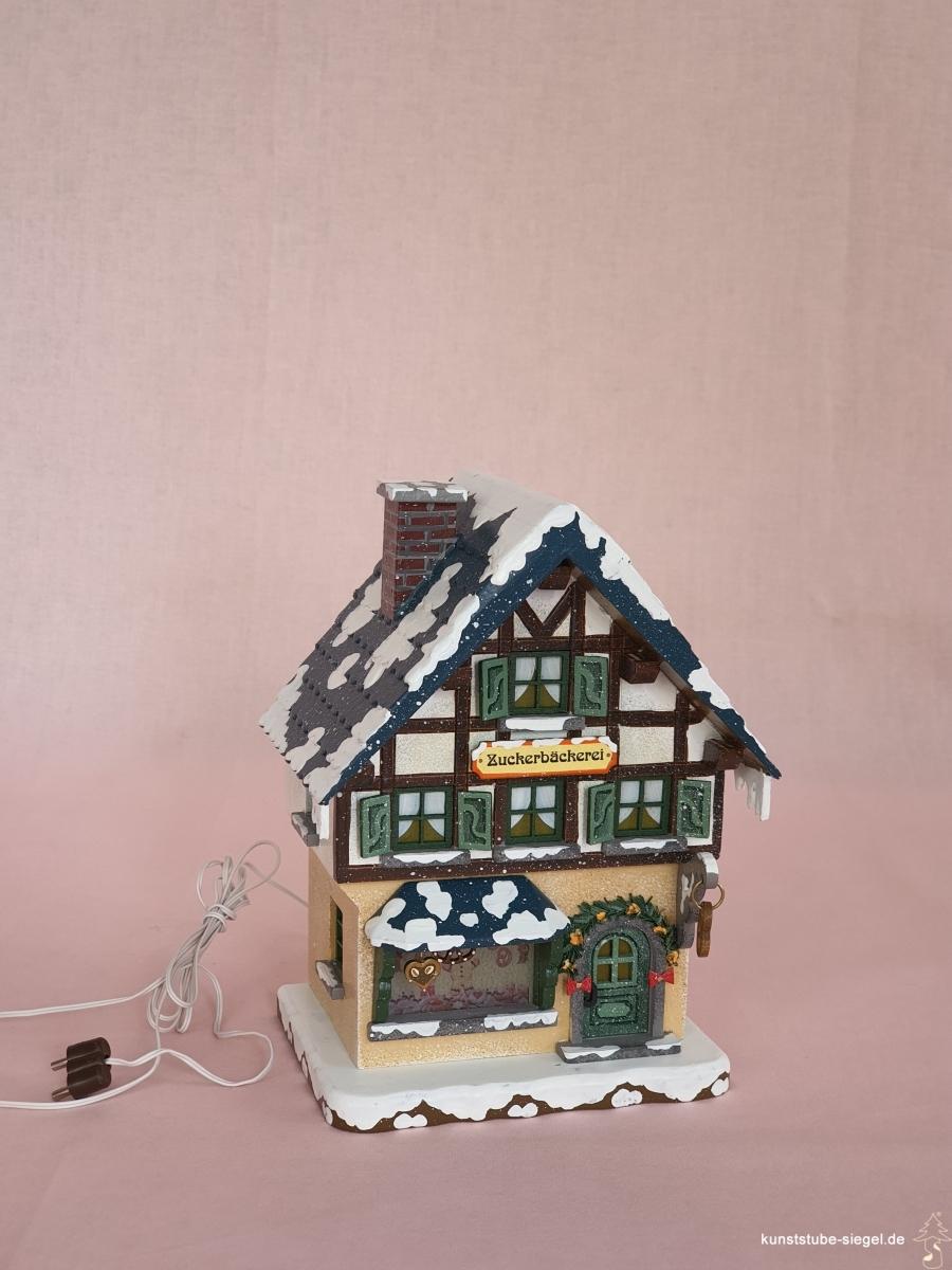 Hubrig Zuckerbäckerei Winterhaus elektrisch