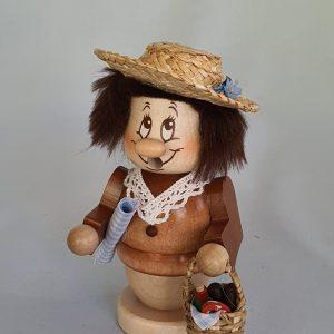 Miniwichtel Sommerfrische Räuchermann