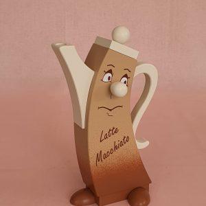 Moderne Räucherkanne Latte Macchiato