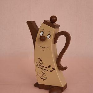 Moderne Räucherkanne Kaffee