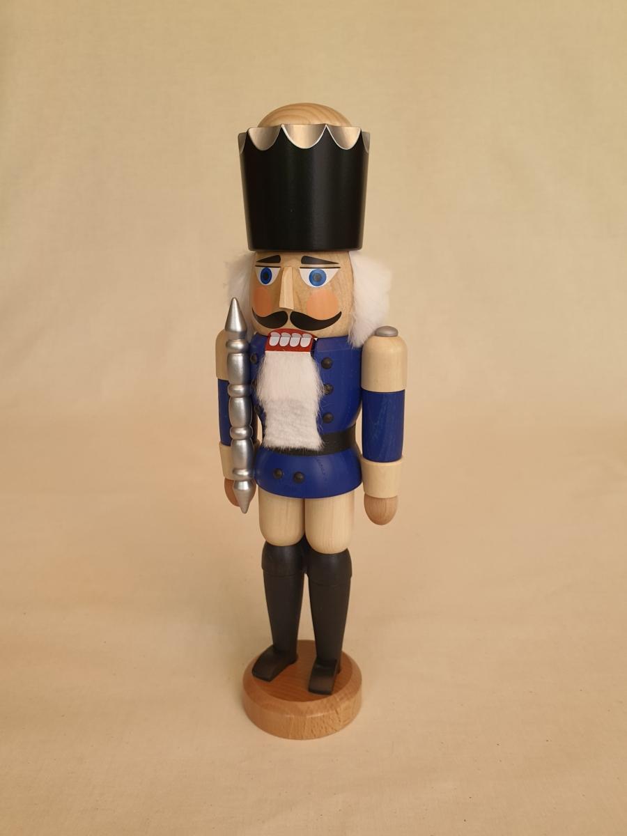 seiffener-volkskunst-nussknacker-koenig-blau-lasiert-29cm